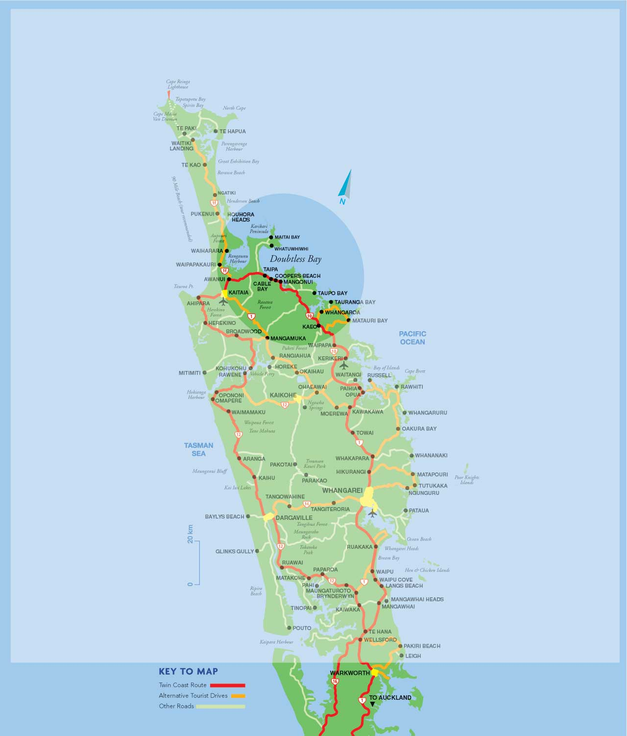 Northland New Zealand Map.Discover Doubtless Bay What We Have In Mangonui Coopers Beach